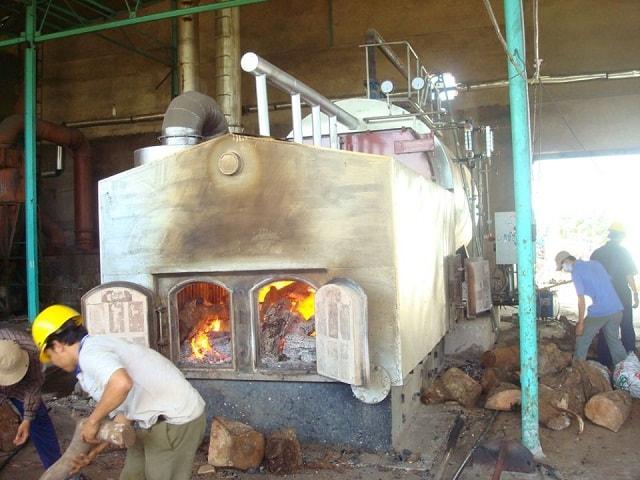 Cách sấy gỗ này phù hợp với nhà xưởng có diện tích nhỏ