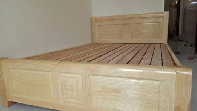 Sản phẩm giường gỗ làm từ gỗ xoài