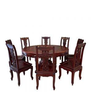 Bộ ghế ăn bàn tròn