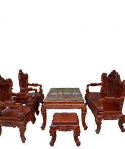 bộ bàn ghế lu y hoàng gia 6 món