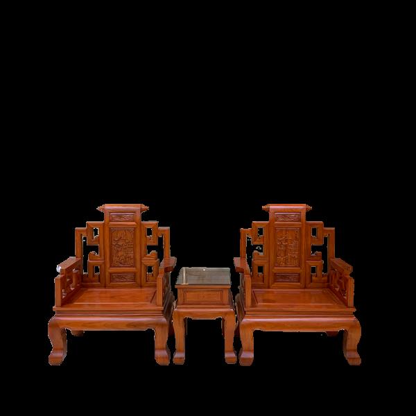 Bộ ghế Sơn Thủy chân cong