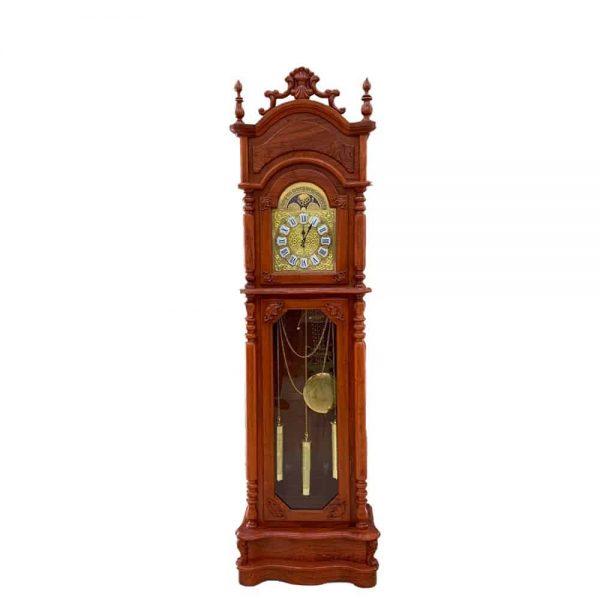 Đồng hồ hộp mặt vuông Gỗ Hương