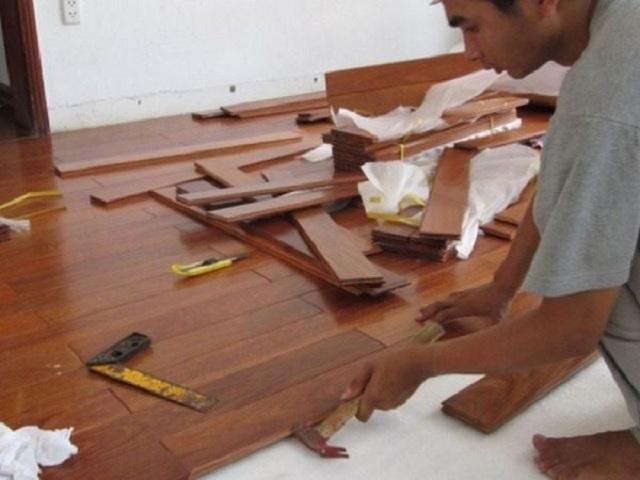 Lắp đặt sàn gỗ chất lượng uy tín